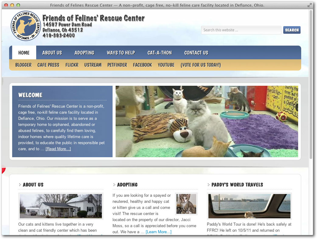 Friends of Felines Rescue Center RClayStiles