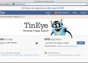 TinEye.com is awesome