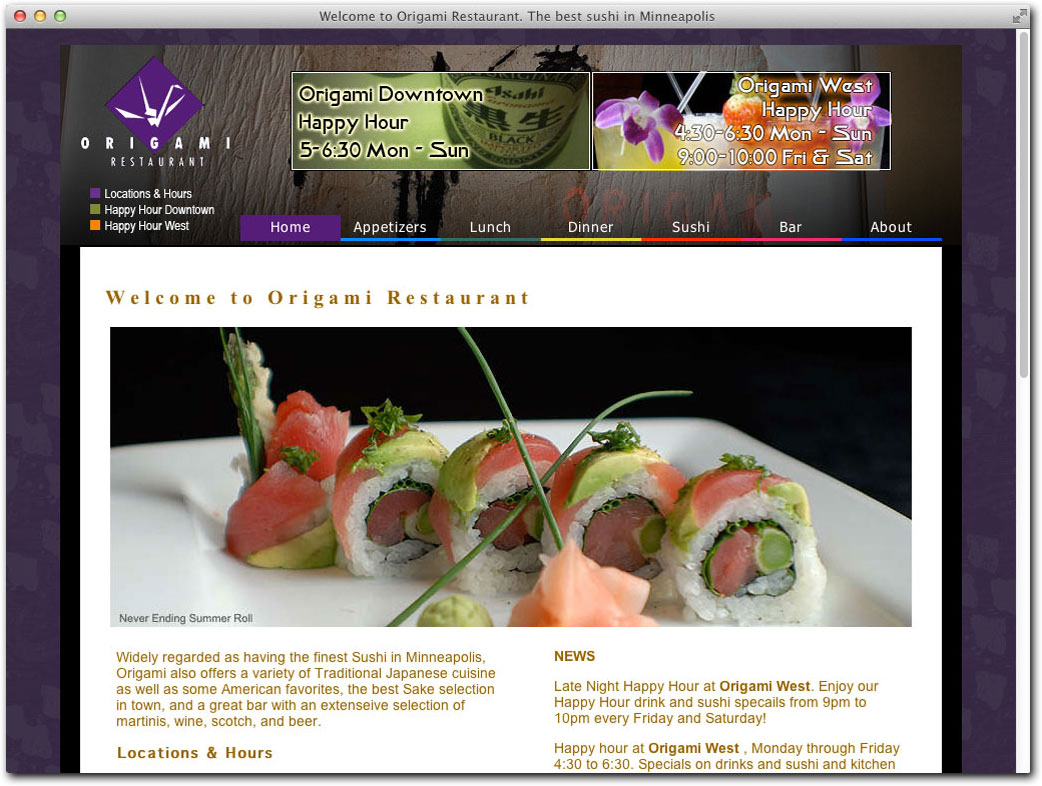 menu - Picture of Origami Japanese kitchen And Sushi Bar, Cuenca ...   786x1042