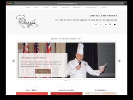 ChefRolandMesnier.com Website Design