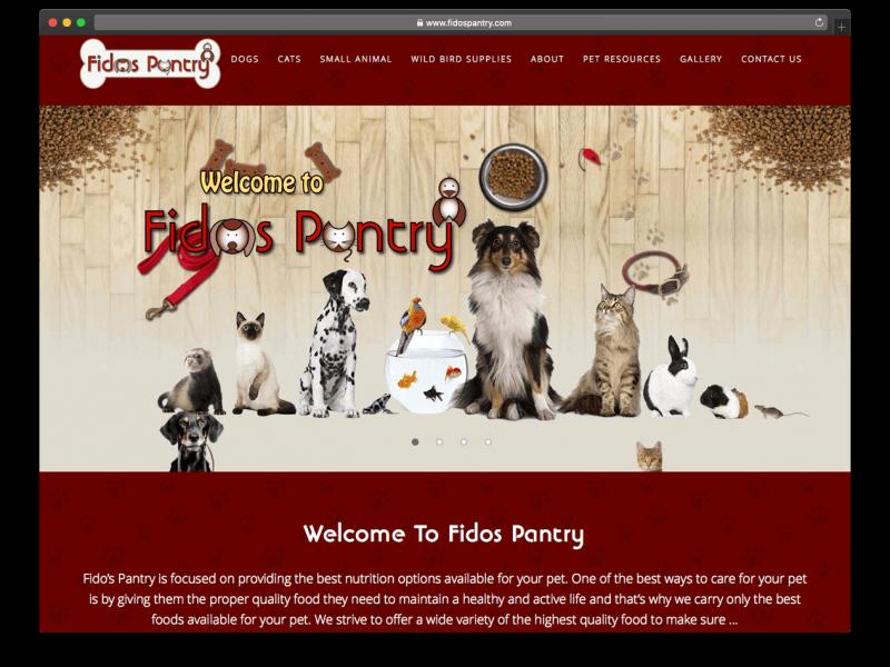 FidosPantry.com Refresh