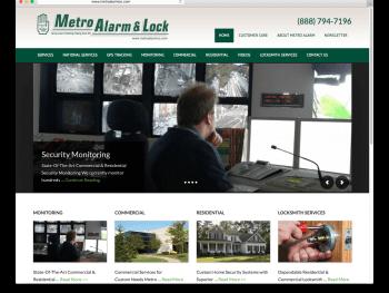 MetroAlarmCo.com Migration and Design