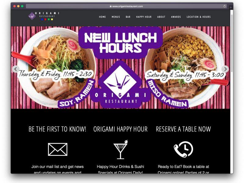 OrigamiRestaurant.com