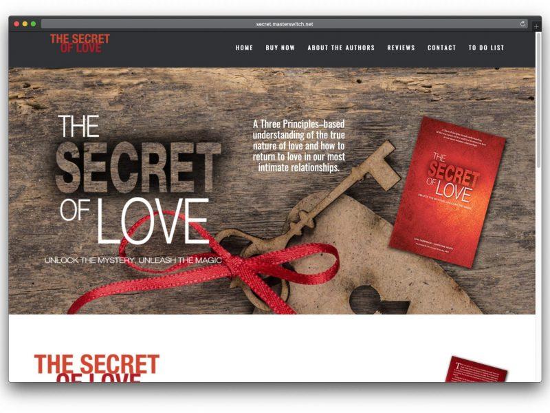 Secret of Love Book Website
