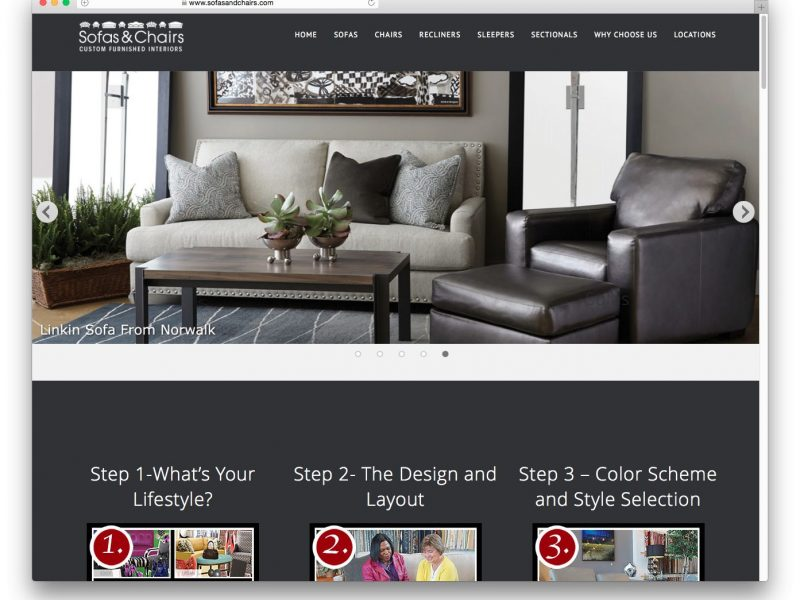 SofasandChairs.com Refresh