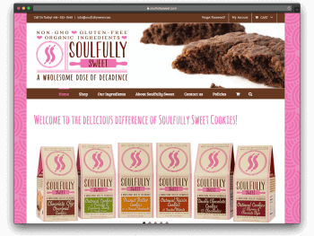 SoulfullySweet.com Website